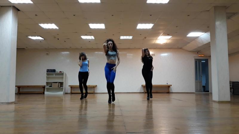 Lyrical Choreo by Olya Rodionova   High Heels Strip Lirics   Alessia Cara Here