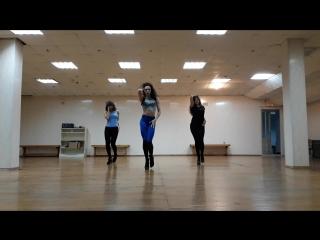 Lyrical Choreo by Olya Rodionova   High Heels & Strip Lirics   Alessia Cara Here
