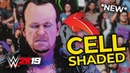WWE 2K19 *NEW* CELL SHADED MODE GAMEPLAY