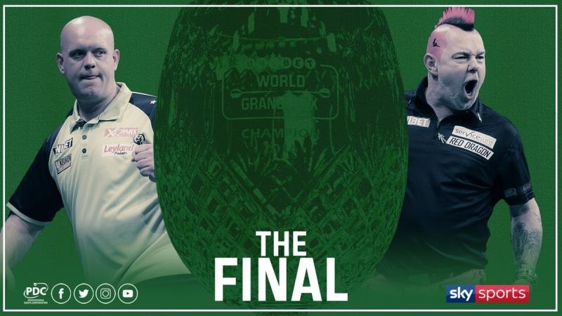 2018 World Grand Prix Final van Gerwen vs Wright