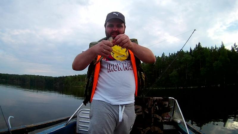 Первая рыбка Ильдара на спиннинг
