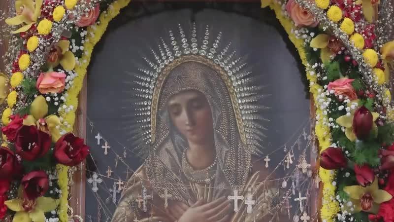 Дивеево Параклис с акафистом Божией Матери