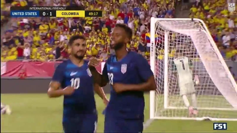 HIGHLIGHTS USA vs Colombia October 11 2018