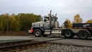 Nuclear waste truck rolls through my neighborhood again