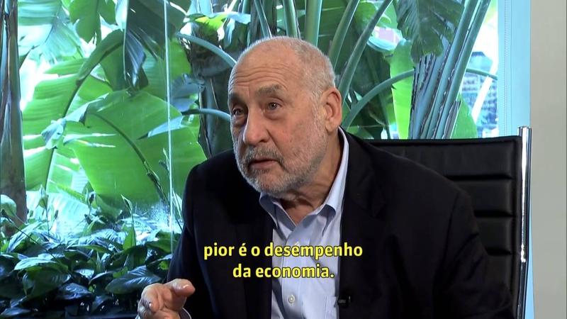 Joseph Stiglitz discute sobre a crise econômica no Brasil e no mundo