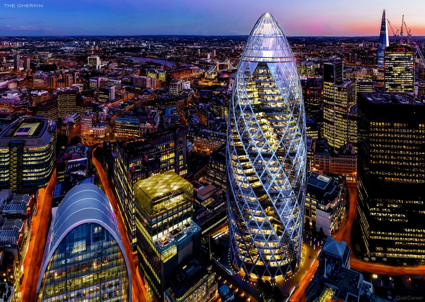 Огурец в лондоне