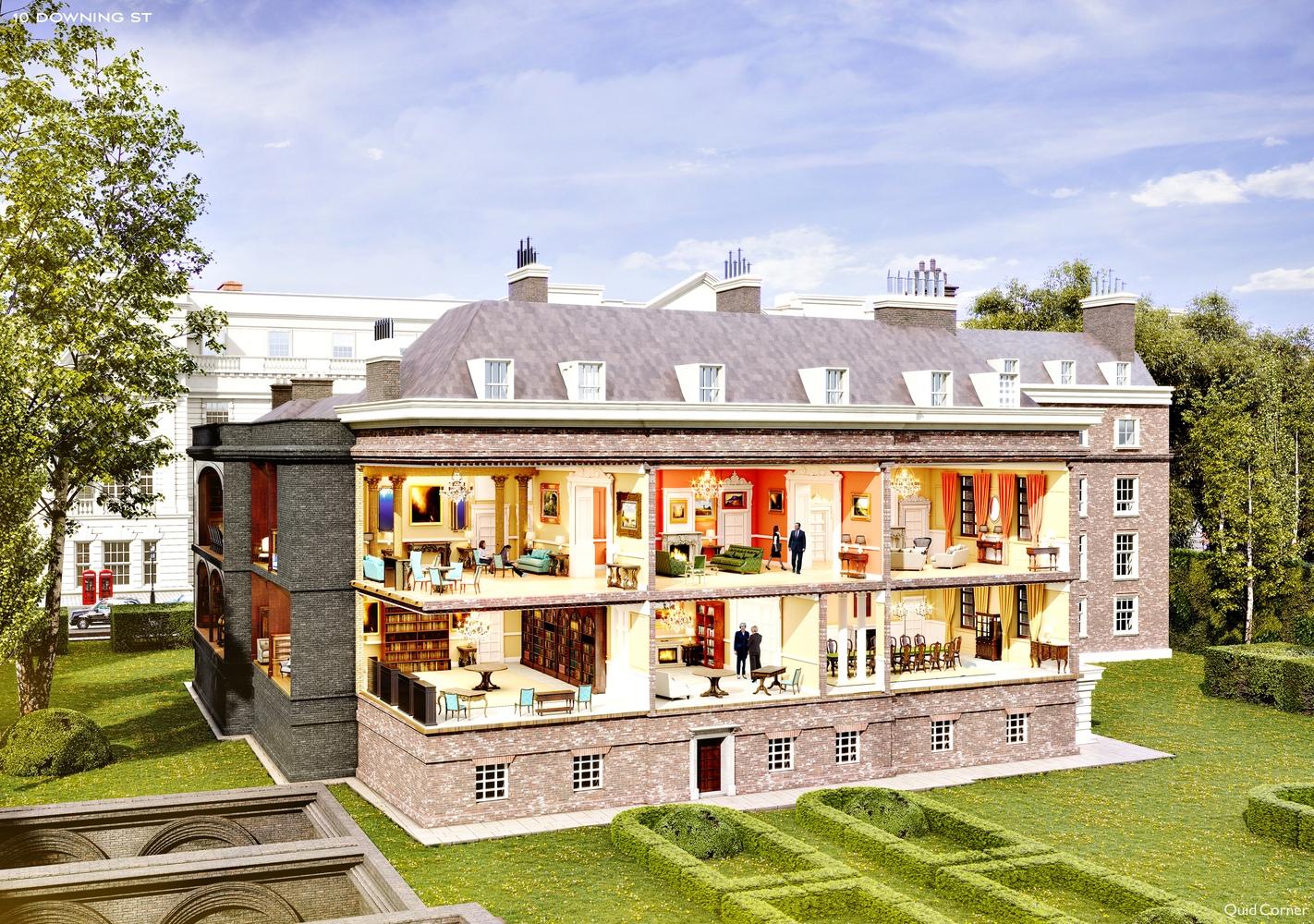 дом правительства в лондоне