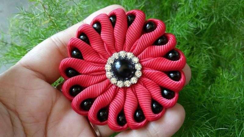 145) Tutorial Pearly Flower || Ubur-ubur Mutsin || Bros cantik
