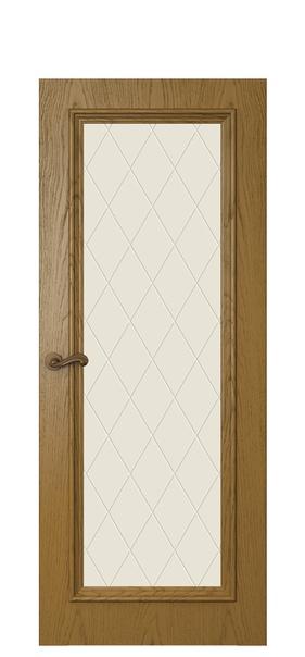 Дверь Магнолия 4, дуб капри