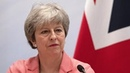Theresa May addresses Jordan investment conference in London
