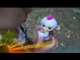 Интерактивная обезьянка Fingerlings. Видеообзор. Автор Нелли Козырева