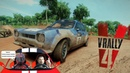 V-Rally 4 Прохождение и первый тест драйв Ford Escort RS1600 🚗 Гонки вид с кабины на игровом руле