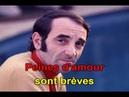 KARAOKE CHARLES AZNAVOUR Rentre chez toi et pleure 1962 ESPACE KARAOKE 51