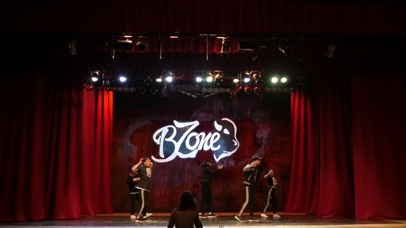 B-zone CREW