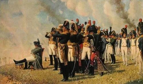 Наполеон перед сражением