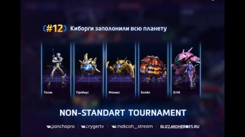 Non-Standart Tournament 2 - Qwerty vs TIET - Round 1 Game 1