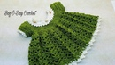 How To Crochet Baby Dress Lil Sprout 0 6 months Bag O Day Crochet TUTORIAL 363