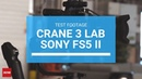 Zhiyun Crane 3 LAB Test Footage With Sony FS5 MKII By James Matthews