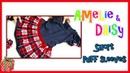 Weihnachtliches Kleid für Mädchen - Schritt für Schritt Anleitung Daisy Amelie Schnittmuster Mix