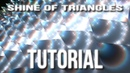 Shine Of Triangles After Effects Tutorial Background 7