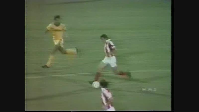 23 UC 1983 1984 Hellas Verona Crvena Zvezda 1 0 14 09 1983 HL