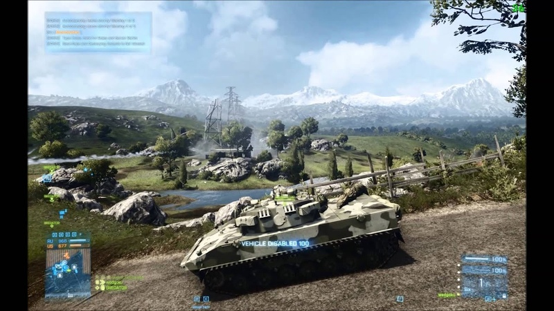 Battlefield 3 Armored Shield Conquest Large 64-Players -Epic Battle Tank VS Helicopter Part 2