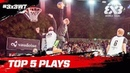 Top 5 Plays | Day 1 | FIBA 3x3 World Tour 2018 - Lausanne Masters 2018 presented by VTX