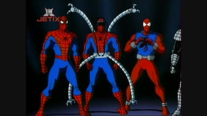 Человек-паук 1994г S5E12 - Как я ненавижу клонов