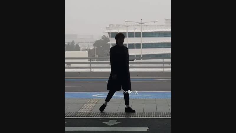 20181106 LeeJoonGi Korea 🛫 HK Departure bello jg р 3 So cute😊😍