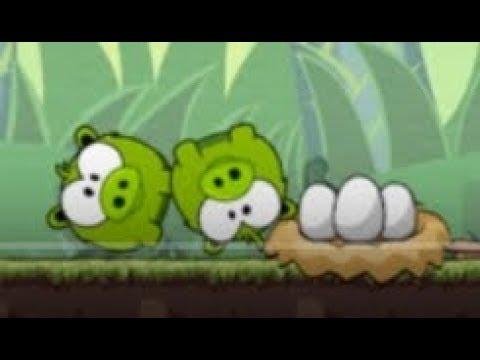 Ам Ням Голодный Поросенок Мультик для детей Игра 🐷 OM NOM Hungry Piggy Cartoon for kids Game HD 2