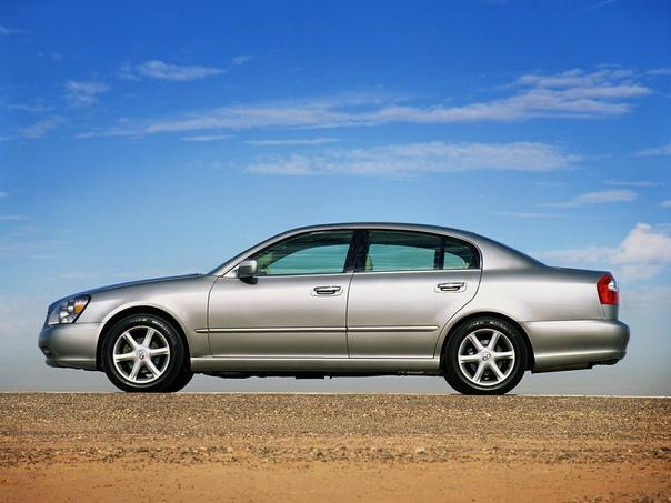Обзор: 2002 Infiniti Q45 Класс: full-size luxury car / luxury car Тип кузова: 4-door sedan Двигатель: V8 4.5 L Мощность: 340 л.с. Крутящий момент: 451 Нм КПП: АКПП-5 Привод: задний Компоновка: