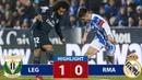 Leganes vs Real Madrid 1 0 Resumen y Goles 16 01 2019
