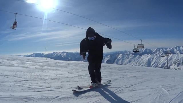 Skiing Michael Jackson