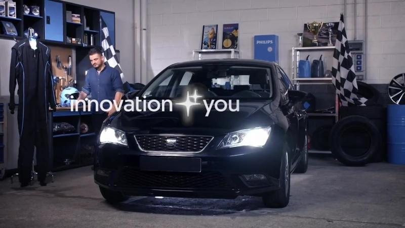 Улучшаем свет фар на автомобиле SEAT Leon ІІІ при помощи светодиодных ламп Philips X-tremeUltinon