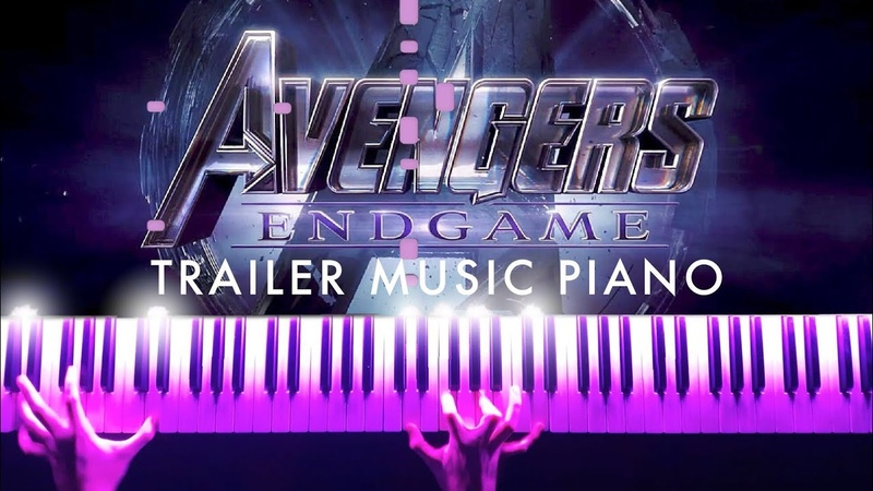 Avengers 4 Endgame - Official Trailer Music (Piano) SHEETSSYNTHESIA