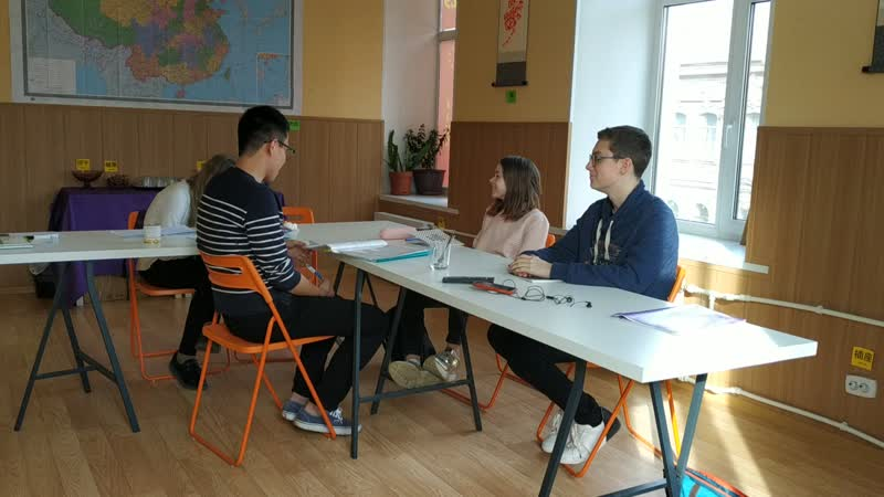 Даша Маня и Сеня 7й месяц изучения китайского языка