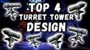 TOP 4 BEST MEDIUM TURRET TOWER DESIGNS IN ARK SURVIVAL EVOLVED
