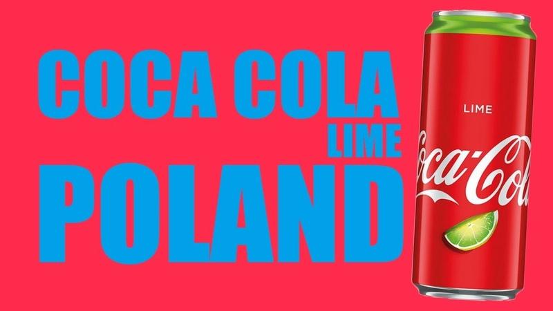 COCA COLA LIME POLAND