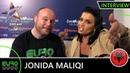 ALBANIA EUROVISION 2019: Jonida Maliqi - 'Ktheju Tokës' (INTERVIEW) | Tel Aviv 2019