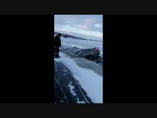 Нетрезвый водитель утопил машину на водохранилище в Башкирии