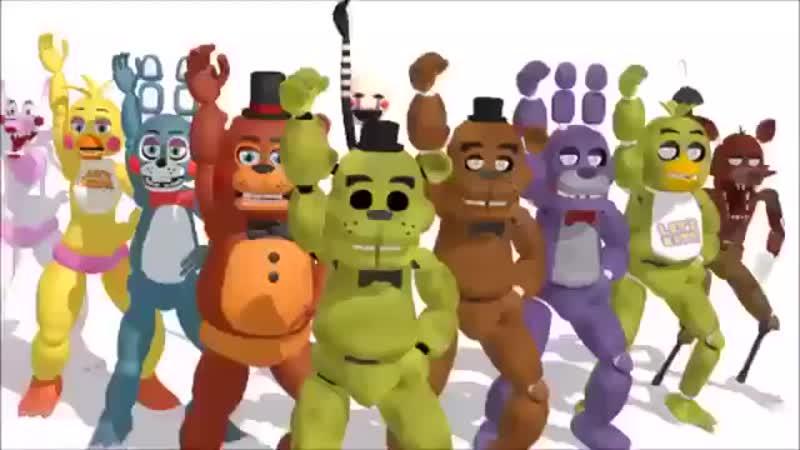 Песня танцуют аниматроники..mp4.360