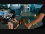 Яна Лукьянова - драка в аэропорту