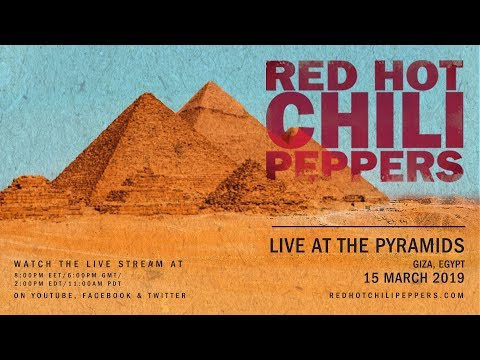 Red Hot Chili Peppers – Live At The Pyramids [Giza, Egypt 15 March 2019]