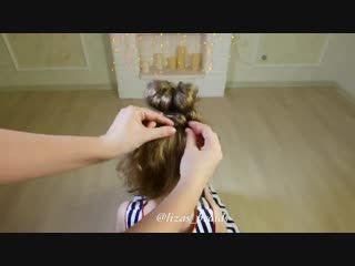 10 cute 1-MINUTE hairstyles for busy morning! Quick  Easy Hairstyles for School