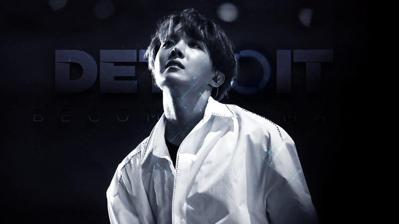 BTS ⤬ Detroit: Become Human ⌜Jung Hoseok⌟ One, Two...au!edit