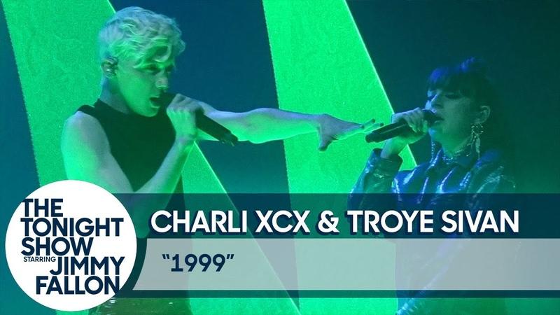 Charli XCX and Troye Sivan: 1999