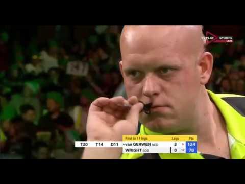 Michael van Gerwen vs Peter Wright Champions League of Darts 2018