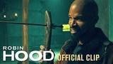 Robin Hood (2018 Movie) Official Clip Training Taron Egerton, Jamie Foxx, Jamie Dornan