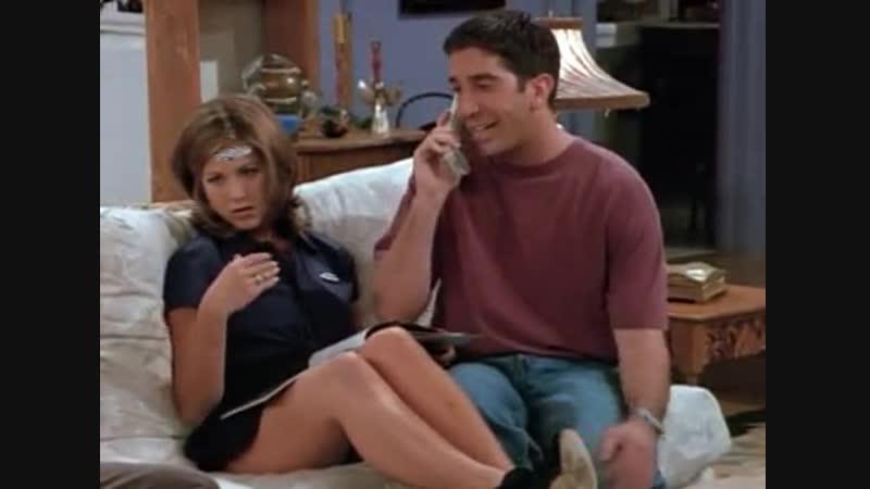 Отрывок из сериала Друзья хорошее настроение юмор смешное видео дружба любовь отношения жена муж разговор по телефону