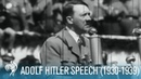 Adolf Hitler Speaking To Mass Crowds (1930-1939) | British Pathé